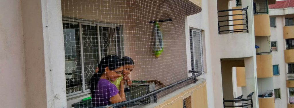 Balcony safety nets in bangalore for